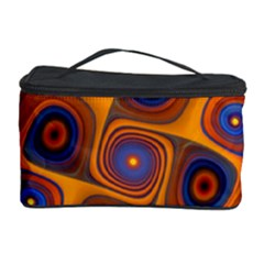 Lines Patterns Background  Cosmetic Storage Case