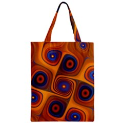 Lines Patterns Background  Zipper Classic Tote Bag