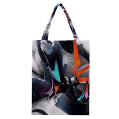 Lines Spray Brush Paint Color  Classic Tote Bag