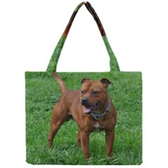 4 Full Staffordshire Bull Terrier Mini Tote Bag