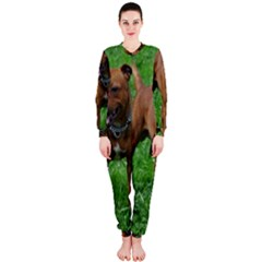 4 Full Staffordshire Bull Terrier Onepiece Jumpsuit (ladies)