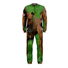 4 Full Staffordshire Bull Terrier Onepiece Jumpsuit (kids)