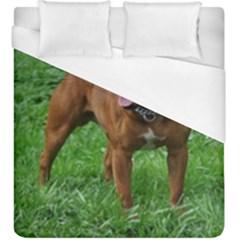 4 Full Staffordshire Bull Terrier Duvet Cover (king Size)