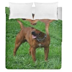 4 Full Staffordshire Bull Terrier Duvet Cover Double Side (queen Size)