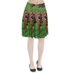 4 Full Staffordshire Bull Terrier Pleated Skirt