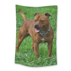 4 Full Staffordshire Bull Terrier Small Tapestry