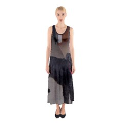 Bouvier Shaved Sleeveless Maxi Dress