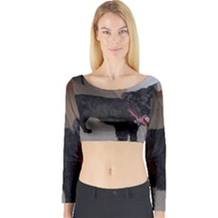 Bouvier Shaved Long Sleeve Crop Top