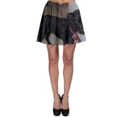 Bouvier Shaved Skater Skirt