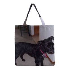 Bouvier Shaved Grocery Tote Bag