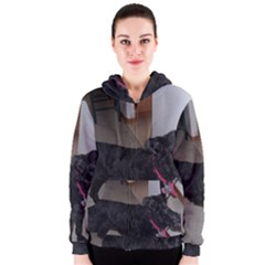 Bouvier Shaved Women s Zipper Hoodie