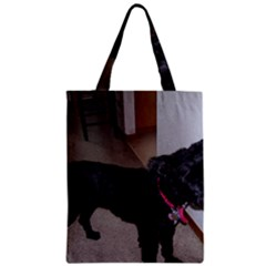 Bouvier Shaved Zipper Classic Tote Bag