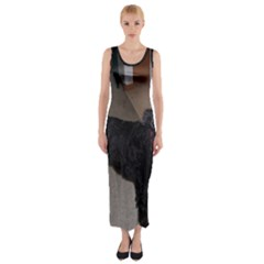 Bouvier Shaved Fitted Maxi Dress
