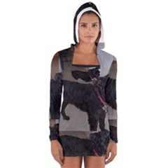 Bouvier Shaved Long Sleeve Hooded T Shirt