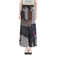Bouvier Shaved Full Length Maxi Skirt