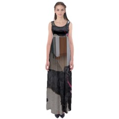 Bouvier Shaved Empire Waist Maxi Dress