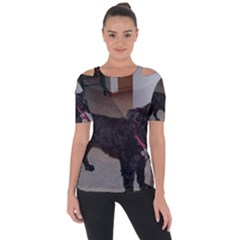 Bouvier Shaved Short Sleeve Top