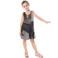 Bouvier Shaved Kids  Sleeveless Dress
