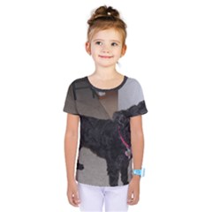 Bouvier Shaved Kids  One Piece Tee