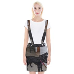 Bouvier Shaved Braces Suspender Skirt