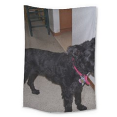 Bouvier Shaved Large Tapestry