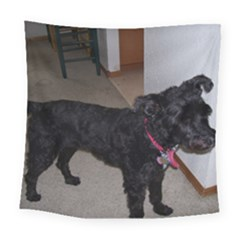 Bouvier Shaved Square Tapestry (large)
