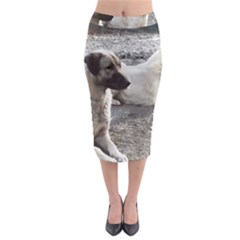 2 Anatolians Midi Pencil Skirt