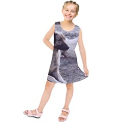 2 Anatolians Kids  Tunic Dress