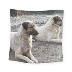 2 Anatolians Square Tapestry (small)