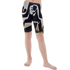 With Love Kids  Mid Length Swim Shorts