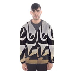 With Love Hooded Wind Breaker (men)
