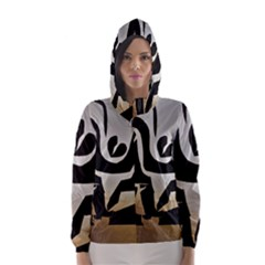 With Love Hooded Wind Breaker (women)