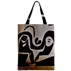 With Love Zipper Classic Tote Bag