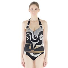 With Love Halter Swimsuit