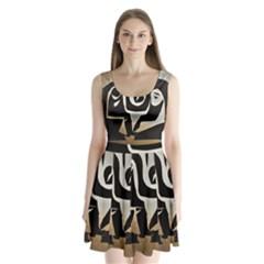 With Love Split Back Mini Dress