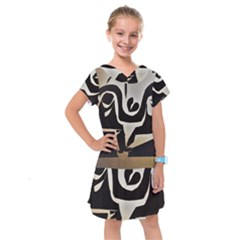 With Love Kids  Drop Waist Dress