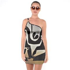 With Love One Soulder Bodycon Dress