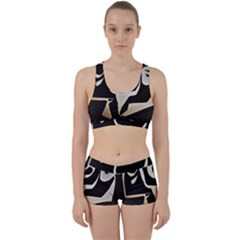 With Love Work It Out Sports Bra Set