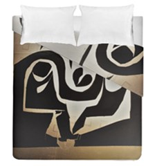 With Love Duvet Cover Double Side (queen Size)