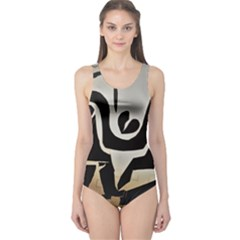 With Love One Piece Swimsuit