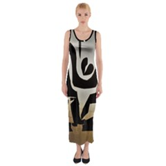 With Love Fitted Maxi Dress