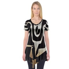 With Love Short Sleeve Tunic
