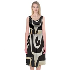 With Love Midi Sleeveless Dress