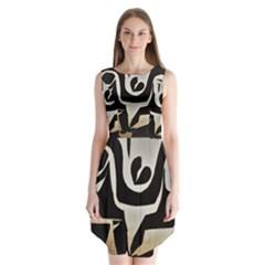 With Love Sleeveless Chiffon Dress