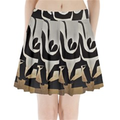 With Love Pleated Mini Skirt