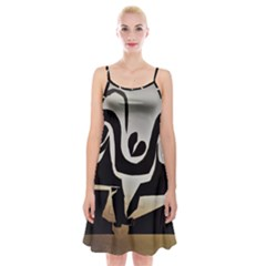 With Love Spaghetti Strap Velvet Dress