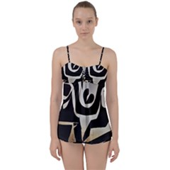 With Love Babydoll Tankini Set