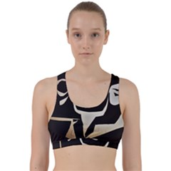 With Love Back Weave Sports Bra