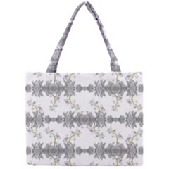 Floral Collage Pattern Mini Tote Bag