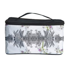 Floral Collage Pattern Cosmetic Storage Case